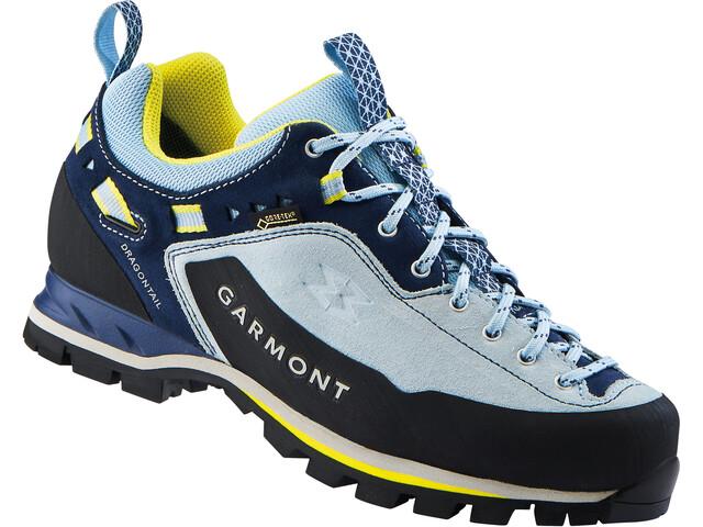 Garmont Dragontail MNT GTX Low Cut Shoes Women Light Blue/Lemon